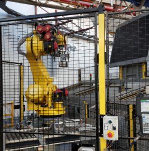 Métiers d'usine et robotique